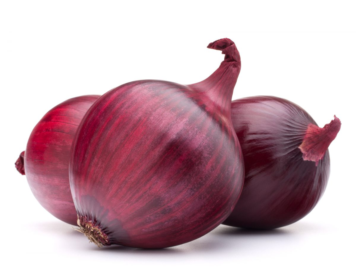Red onion (vegetables)