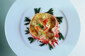Spider Crab in Tomato Glaze