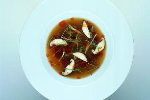 Grey Shrimp in Thai Consommé