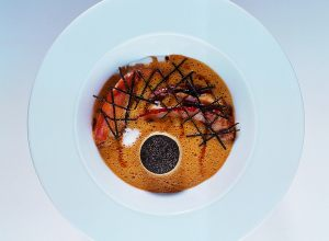 Brittany Lobster Bisque with Liver Royale