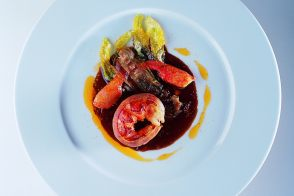 Lobster Tournedos with Provençal Daube and Sweet-and-Sour Citrus Sauce
