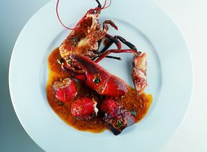 A Connoisseur's Roasted Lobster