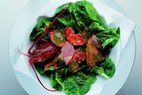 Alain Chapel's Breton Lobster Salad with Squab Breasts and Black Truffles