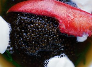 Chilled Lobster Soup with Imperial Iranian Osetra Caviar