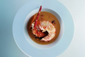 Royal Spiny Lobster in a Chardonnay Nage