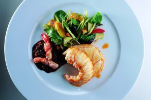 Roasted Royal Spiny Lobster in Pepper Sauce