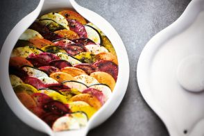 Autumn Fruit and Vegetable Cocotte