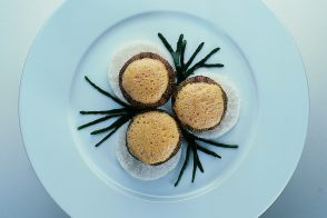 Rock Urchin with Lobster Sauce