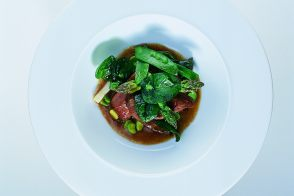 Suckling Lamb Stew with Spring Vegetables