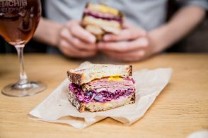 Reuben Sandwich by Gregory Marchand