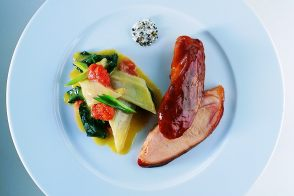 Sous-Vide Veal Knuckle with Swiss Chard