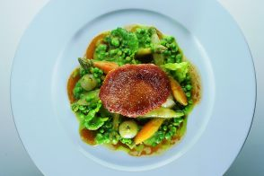 Farm-Raised Veal Sweetbreads with Spring Vegetables