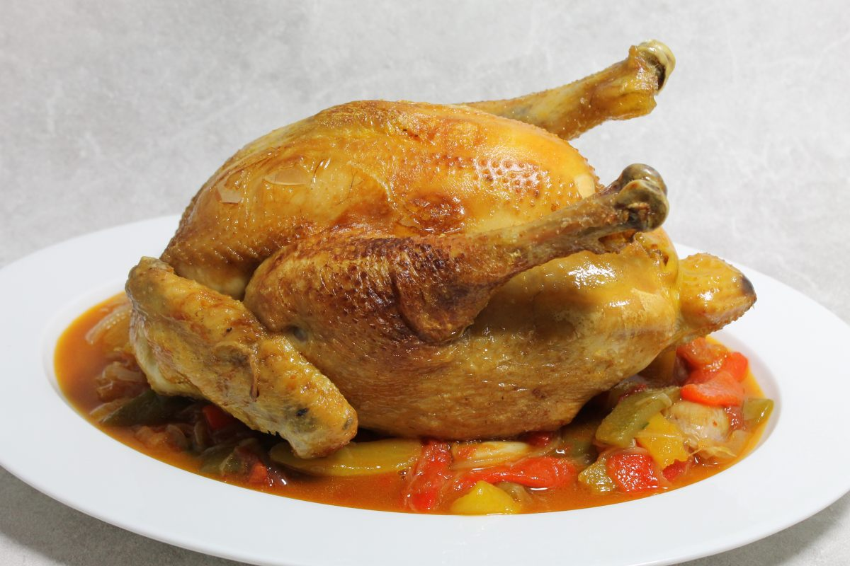 Chicken Basquaise Recipe — Dishmaps