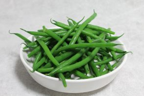 Boiled green beans by Alain Ducasse