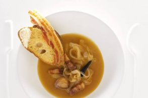 French onion soup by Alain Ducasse