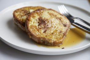 French toast by Alain Ducasse