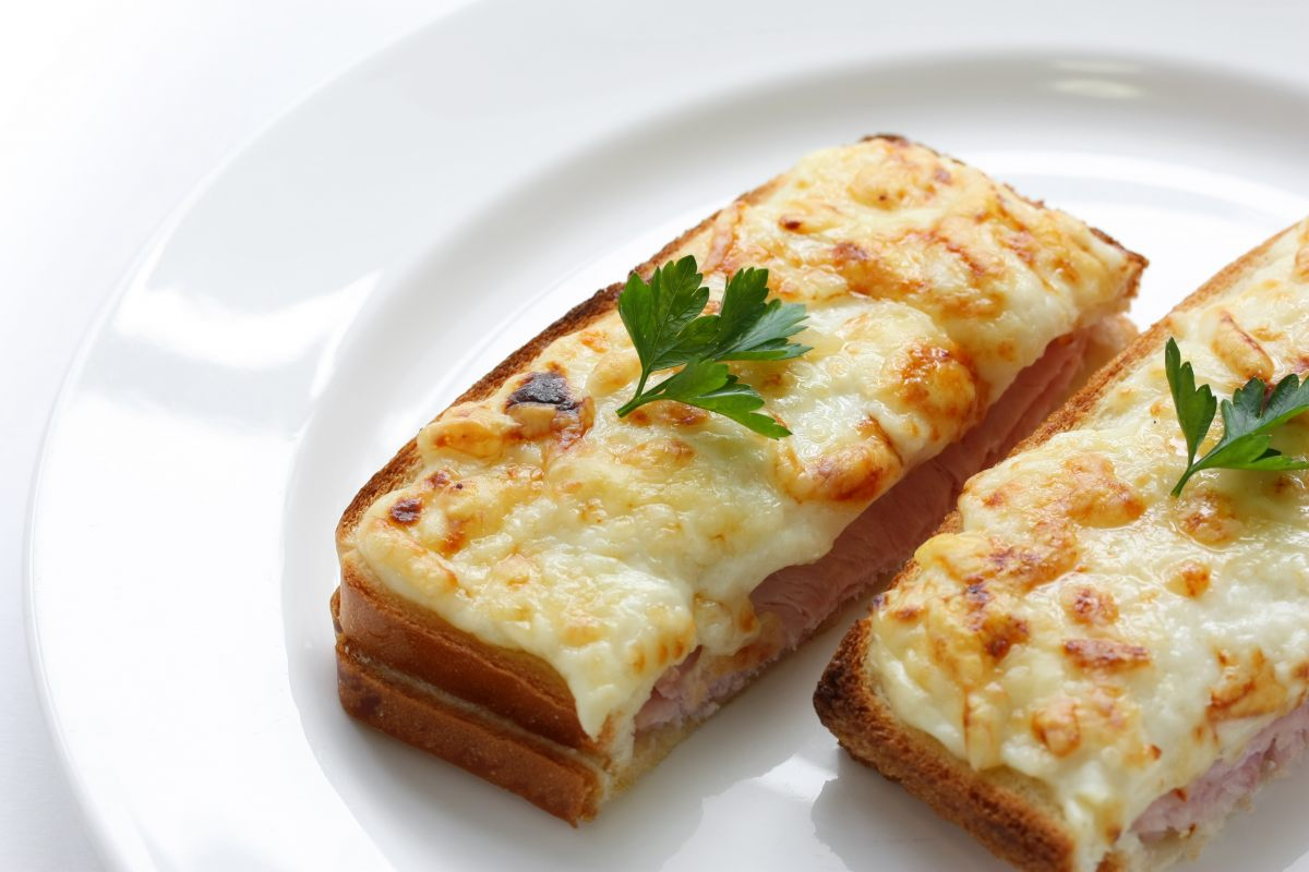 Croque monsieur by alain ducasse - Croque monsieur au four creme fraiche ...