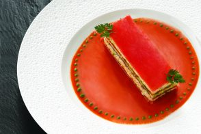 Tomato and Crab Millefeuille