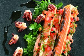 Salmon Mi-Cuit in Olive Oil