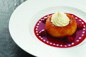 Savarin with Kirsch