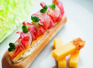 Recipe of lobster roll by Alain Ducasse
