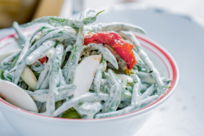 Green beans recipe by Alain Ducasse