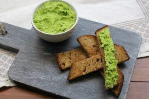 Sweet Pea Hummus recipe by All My Chefs