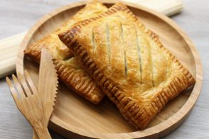 Salmon and Spinach Pockets recipe