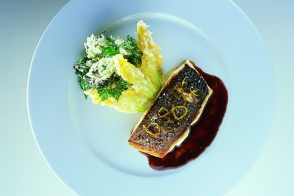 Crispy Gilthead Bream in Braised Beef Sauce