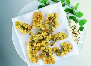 Acacia Blossom Fritters
