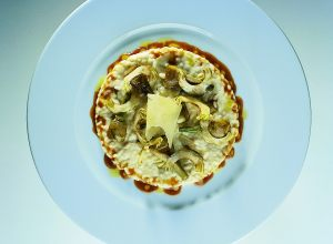 Baby Artichoke Risotto with Sharp Parmesan