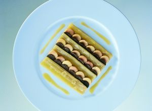 Cardoons with Beef Marrow and Truffles