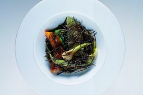 Pot au Feu-Style Vegetables in Truffle Vinaigrette
