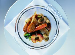 Autumn Vegetables with Country Bacon