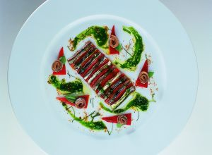 Marinated Mediterranean Anchovy Fillets and Mild Chiles