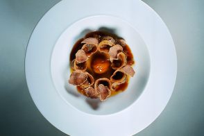 Chestnut Cappelletti with Tartufi di Alba Shavings