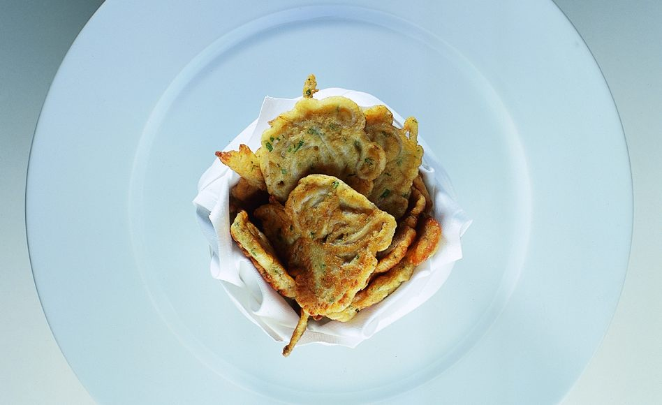 Herbed Smelt Fritters