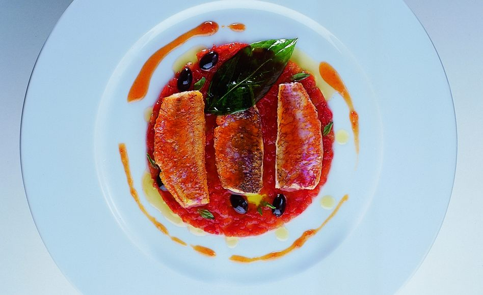 Niçoise-Style Chilled Red Mullet