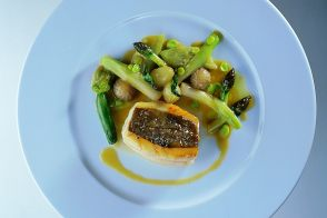 Baked John Dory with Summer Vegetables